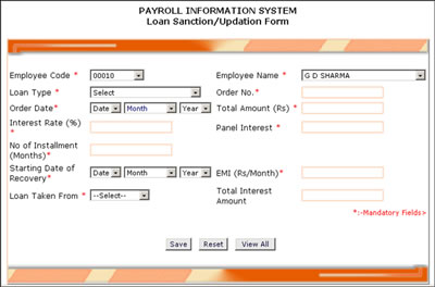 proposed system for payroll management system